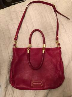 "Marc by Marc Jacobs ""Too Hot to Handle Mini Shopper"" in red"