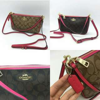 COACH SIGNATURE TOP HANDLE   ( F 36674 )
