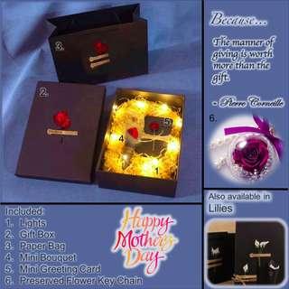 Preserved Flower Gift box set