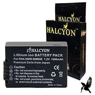 Halcyon 1500 mAH Lithium Ion Replacement Battery for Panasonic Lumix DMC-FZ70 Digital Camera and Panasonic DMW-BMB9