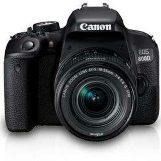 Eos 800d+lens 18-135mm