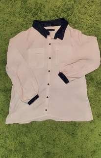 Japanese brand dress shirts (white size free US S〜M)