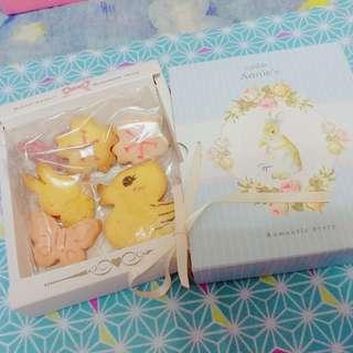 安妮兔復活節曲奇餅(手製-書本形)