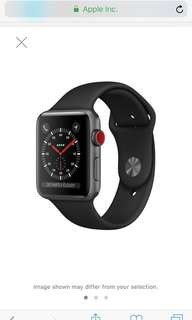 Apple Watch series 3 cellular 42mm brand new (collect direct at Appleshop)