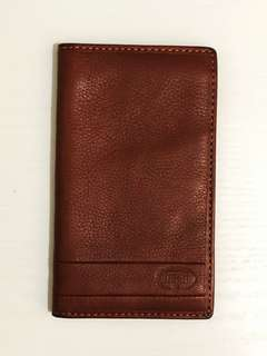 Fossil Leather Long Wallet (Light Brown)