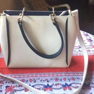 Japan preloved samantha thavasa leather bag