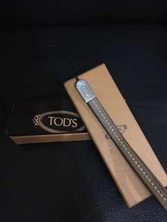 Tod's 真皮帶(可掛匙扣)