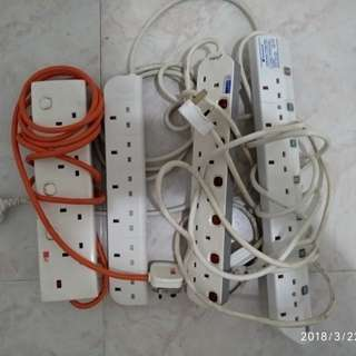 100% working Extension Cords