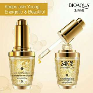Authentic BioAqua 24k Gold White Moisturizing Serum