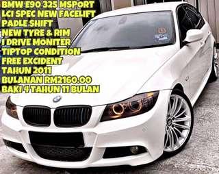 BMW E90 325 LCI MSPORT SAMBUNG BAYAR