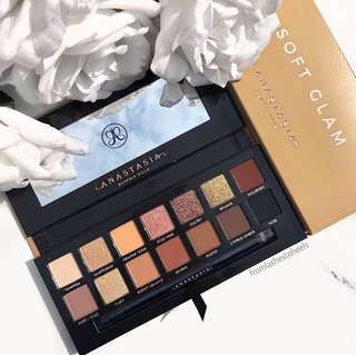 Instock New Batch Anastasia Beverly Hills Soft Glam Eyeshadow Palettes