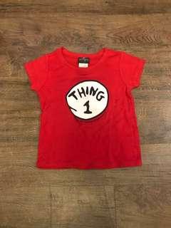 Thing 1 Shirt - never used; no tag