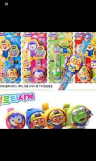 Offer Offer !!! Pororo Authentic Kids Watch Brand New 4 Design Available