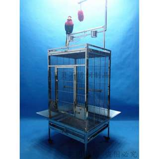 304 Stainless Steel Parrot Cage