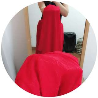 Skirt maxi high quality silk with high quality lining