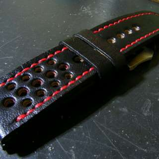 Tali jam tangan kulit handmade leather watchstrap