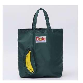 FUN 日雜~守護地球 超療癒  一條蕉 手提購物袋 環保袋 可折疊 薄款