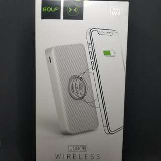 Golf 無線充電 wireless power bank Type C usb charger 10000mAh 尿袋