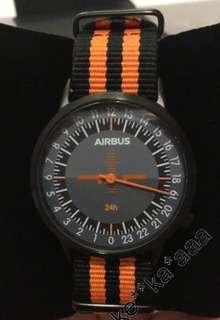 Airbus 24小時盤 地球儀錶款 購自法國空巴