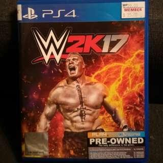 PS4 W2K17 (WWE 2K17)