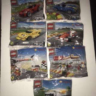 LEGO Ferrari x Shell 40190-96 complete