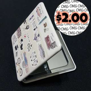 📮Free NORMAL 📮Free NORMAL postage 💯Brand New Magnifying Compact 2 Sided Mirror