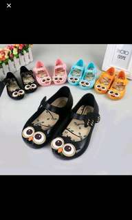 Instock owl jelly shoe brand new gd quality pm me For size