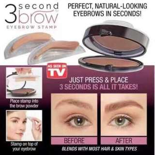 🔥3 second EYEBROW STAMP