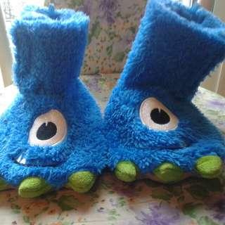 Monster slippers size 9-10