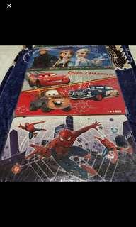 120pcs Frozen/Spider-Man/mc Queen Car Design Puzzle Brand New
