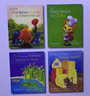 4 books by Emily Lim