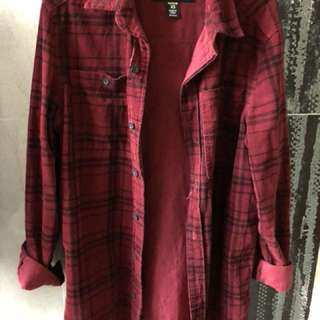 Corduroy red flannel