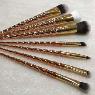 ROSE GOLD UNICORN Brushes