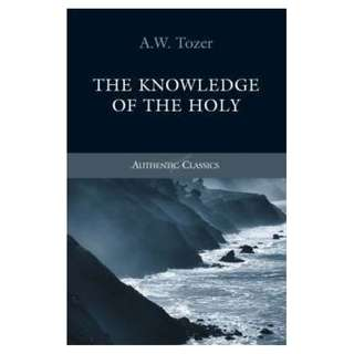 [eBook] The Knowledge of the Holy - A W Tozer