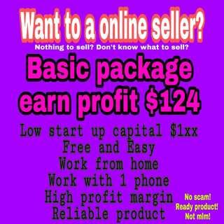 Be a online seller