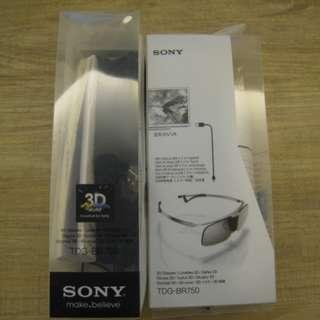 (全新正規品 超低價) 原裝 Sony 3D 眼鏡 主動式 TDG - BR 750 3D Glasses