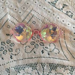 Festival Doof Psychedelic Glasses