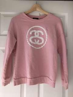 Stussy Pink Sweatshirt