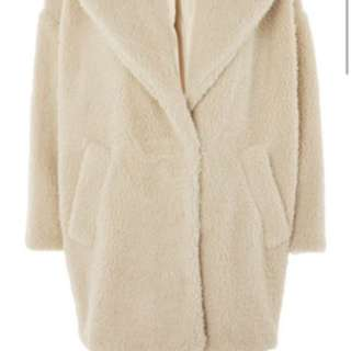 Topshop cocoon jacket size 4 (bought from another user)