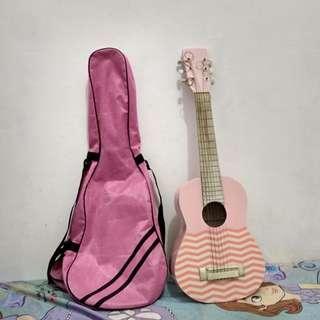 Gitar mini pink