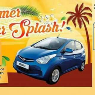 Summer Car Splash Promo