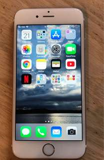 Rosegold iPhone 6S64GB