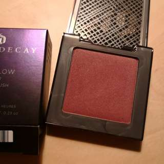Urban decay blush in Rapture