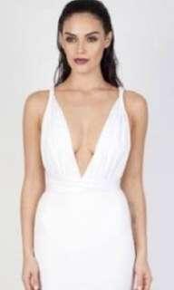 Zachary Theia Bodysuit White XS