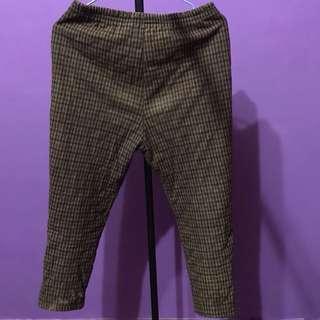 💜古著二手格紋褲💜
