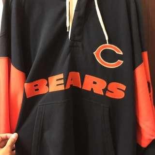 芝加哥熊 美國橄欖球隊帽t
