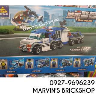 For Sale Police 4in1 Building Blocks Toy