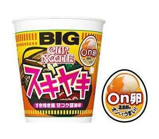 ‼️現貨‼️【合味道】日版合味道 Cup Noodle 最新口味 「ON卵」壽喜燒增大杯麵