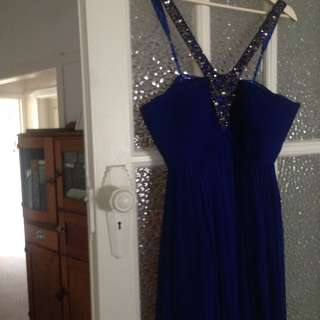 Forever New blue formal dress