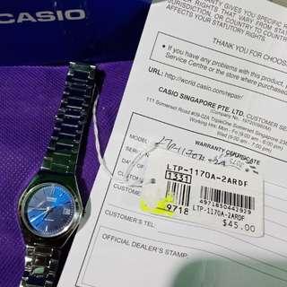 Casio LTP 1170A-2A